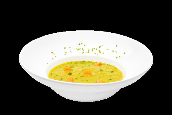 Indian red lentil soup (Dahl style)